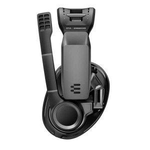 black headset sennheiser