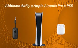 connettere AirFly airpods ps5